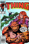 Cover for The Thing (Marvel, 1983 series) #18 [Newsstand]