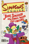 Cover for Simpsons Comics (Bongo, 1993 series) #41 [Direct Edition]