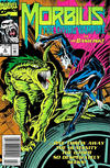 Cover for Morbius: The Living Vampire (Marvel, 1992 series) #6 [Newsstand Edition]