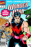 Cover for Wonder Man (Marvel, 1991 series) #1 [Newsstand]