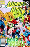 Cover for Wonder Man (Marvel, 1991 series) #13 [Newsstand]