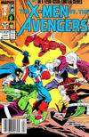 Cover Thumbnail for The X-Men vs. The Avengers (1987 series) #1 [Newsstand]
