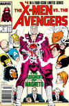 Cover Thumbnail for The X-Men vs. The Avengers (1987 series) #4 [Newsstand]
