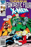 Cover Thumbnail for Fantastic Four vs. X-Men (1987 series) #1 [Newsstand]