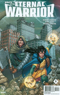 Cover Thumbnail for Wrath of the Eternal Warrior (Valiant Entertainment, 2015 series) #2 [Cover G - Midtown Comics Exclusive - Francis Portela]