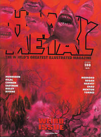 Cover Thumbnail for Heavy Metal Magazine (Heavy Metal, 1977 series) #288 - The Weird Issue [Cover C Shark Toof]