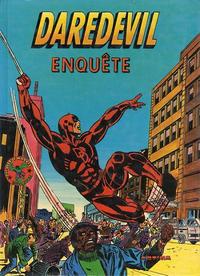 Cover Thumbnail for Daredevil enquête (Arédit-Artima, 1980 series)
