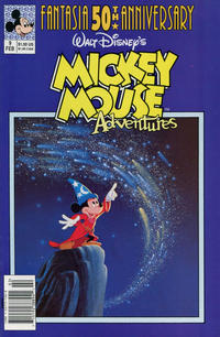 Cover Thumbnail for Walt Disney's Mickey Mouse Adventures (Disney, 1990 series) #9 [Newsstand]