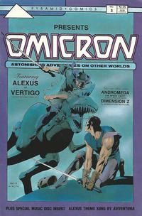 Cover Thumbnail for Omicron: Astonishing Adventures on Other Worlds (Pyramid Productions, 1987 series) #2