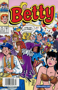 Cover Thumbnail for Betty (Archie, 1992 series) #117 [Newsstand]