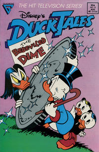 Cover for Disney's DuckTales (Gladstone, 1988 series) #8 [Direct]