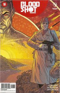 Cover Thumbnail for Bloodshot Reborn (Valiant Entertainment, 2015 series) #16 [Cover D - Ryan Bodenheim]