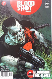 Cover Thumbnail for Bloodshot Reborn (Valiant Entertainment, 2015 series) #17 [Cover B - Butch Guice]