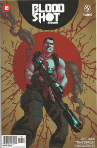 Cover Thumbnail for Bloodshot Reborn (Valiant Entertainment, 2015 series) #18 [Cover D - Brian Level]