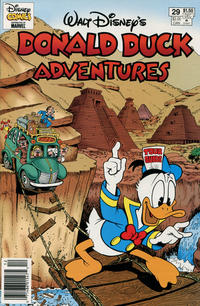 Cover Thumbnail for Walt Disney's Donald Duck Adventures (Gladstone, 1993 series) #29 [Newsstand]