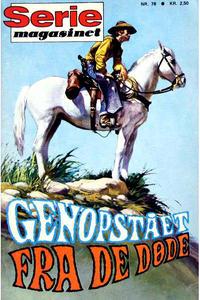 Cover Thumbnail for Seriemagasinet (Interpresse, 1968 series) #78