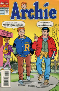 Cover Thumbnail for Archie (Archie, 1959 series) #433 [Direct]