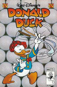 Cover Thumbnail for Donald Duck (Gladstone, 1986 series) #292 [Direct]