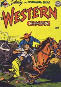 Cover Thumbnail for Western Comics (National Comics Publications of Canada Ltd, 1948 series) #3