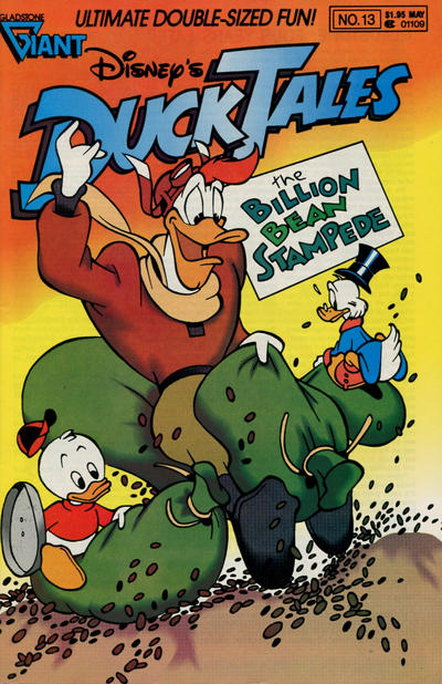 Cover for Disney's DuckTales (Gladstone, 1988 series) #13 [Direct]