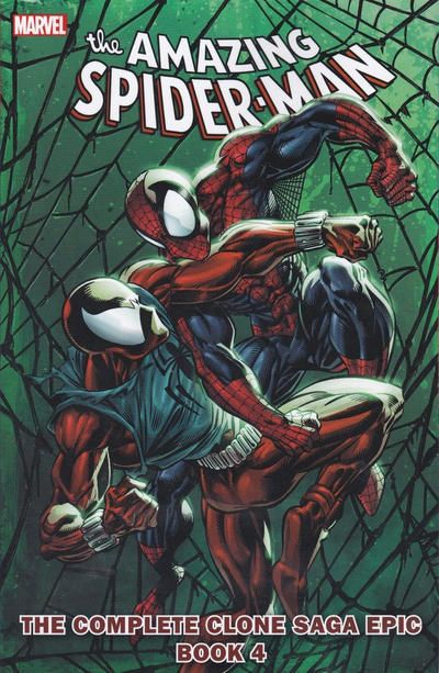 Cover for Spider-Man: The Complete Clone Saga Epic (Marvel, 2010 series) #4