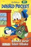Cover Thumbnail for Donald Pocket (1968 series) #97 - Donald skrur tiden tilbake [2. utgave bc 239 99]