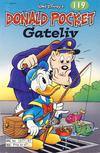 Cover Thumbnail for Donald Pocket (1968 series) #119 - Gateliv [2. utgave bc 277 87]