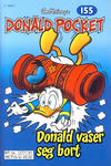 Cover Thumbnail for Donald Pocket (1968 series) #155 - Donald vaser seg bort [2. utgave bc 277 81]