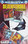 Cover for Deathstroke (DC, 2016 series) #25 [Shane Davis / Michelle Delecki Cover]