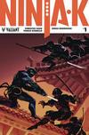 Cover for Ninja-K (Valiant Entertainment, 2017 series) #1 [Cover B - Lucas Troya]