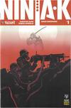 Cover for Ninja-K (Valiant Entertainment, 2017 series) #1 Pre-Order Edition