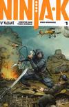 Cover for Ninja-K (Valiant Entertainment, 2017 series) #1 [Cover C - Kenneth Rocafort]