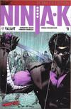 Cover for Ninja-K (Valiant Entertainment, 2017 series) #1 [New York Comic Con - Trevor Hairsine]