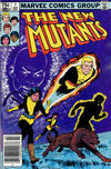 Cover for The New Mutants (Marvel, 1983 series) #1 [Canadian]