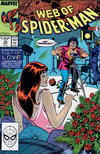 Cover for Web of Spider-Man (Marvel, 1985 series) #42 [Direct Edition]