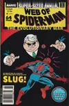 Cover Thumbnail for Web of Spider-Man Annual (1985 series) #4 [Newsstand]