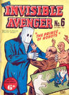 Cover for Invisible Avenger (Magazine Management, 1950 series) #6