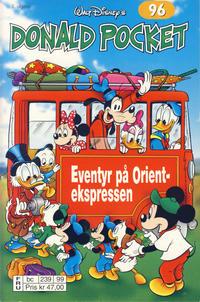 Cover Thumbnail for Donald Pocket (Hjemmet / Egmont, 1968 series) #96 - Eventyr på Orientekspressen [2. utgave bc 239 99]
