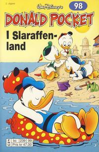 Cover Thumbnail for Donald Pocket (Hjemmet / Egmont, 1968 series) #98 - I Slaraffenland [2. utgave bc 239 99]