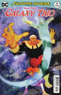 Cover Thumbnail for Future Quest Presents (DC, 2017 series) #4 [Bill Sienkiewicz Cover]