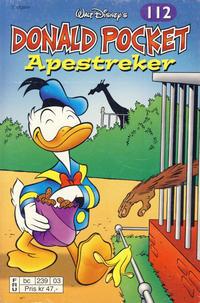 Cover Thumbnail for Donald Pocket (Hjemmet / Egmont, 1968 series) #112 - Apestreker [2. utgave bc 239 03]