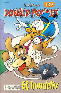 Cover Thumbnail for Donald Pocket (Hjemmet / Egmont, 1968 series) #139 - Et hundeliv [2. utgave bc 239 50]