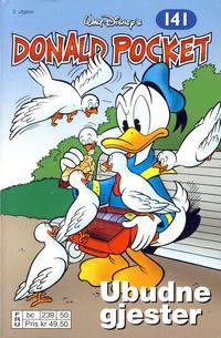 Cover Thumbnail for Donald Pocket (Hjemmet / Egmont, 1968 series) #141 - Ubudne gjester [2. utgave bc 239 50]