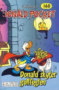 Cover Thumbnail for Donald Pocket (Hjemmet / Egmont, 1968 series) #160 - Donald skyter gullfuglen [2. utgave bc 239 50]