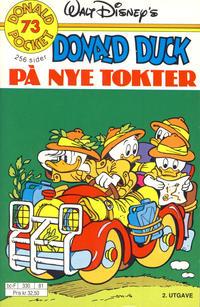 Cover Thumbnail for Donald Pocket (Hjemmet / Egmont, 1968 series) #73 - Donald Duck på nye tokter [2. utgave bc-F 330 81]