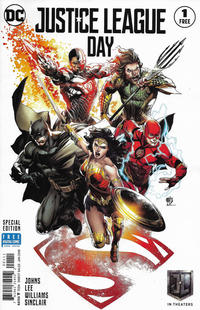 Cover Thumbnail for Justice League #1 Justice League Day 2017 Special Edition (DC, 2018 series) #1