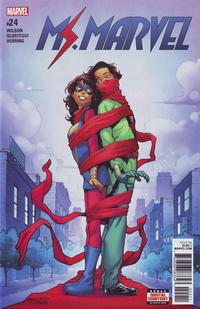 Cover Thumbnail for Ms. Marvel (Marvel, 2016 series) #24