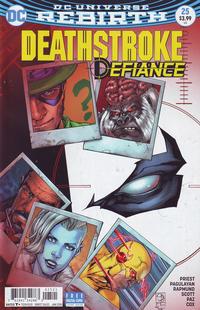 Cover Thumbnail for Deathstroke (DC, 2016 series) #25 [Shane Davis Cover]