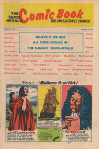 Cover Thumbnail for The News Herald Comic Book the Collectable Comics (Lake County News Herald, 1978 series) #5