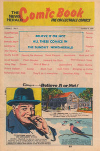 Cover Thumbnail for The News Herald Comic Book the Collectable Comics (Lake County News Herald, 1978 series) #6